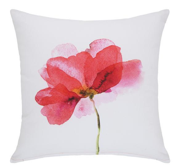 Zierkissen Amazonas Pink/Weiß, 45x45 cm - Pink/Weiß, Textil (45/45cm) - Mömax modern living