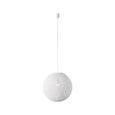 Függőlámpa Sophia - Fehér, Lifestyle, Természetes anyagok/Műanyag (50cm) - Mömax modern living