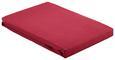 Spannleintuch Basic Bordeaux 100x200 cm - Bordeaux, Textil (100/200cm) - Mömax modern living