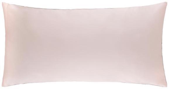 Kissenhülle Belinda, ca. 40x80cm - Hellgrau/Rosa, Textil (40/80cm) - PREMIUM LIVING