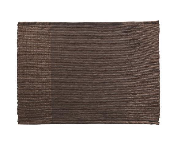 Tischset Brando in Braun - Braun, LIFESTYLE, Textil (33/45cm) - Mömax modern living