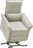 Relaxsessel in Grau - Schwarz/Grau, KONVENTIONELL, Kunststoff/Textil (87/78-110/90-166cm) - Modern Living