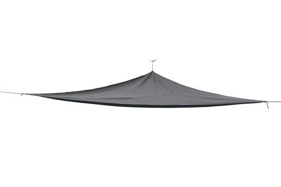 Sonnenblende Tim Anthrazit - Anthrazit, Textil (300/300/300cm) - Mömax modern living