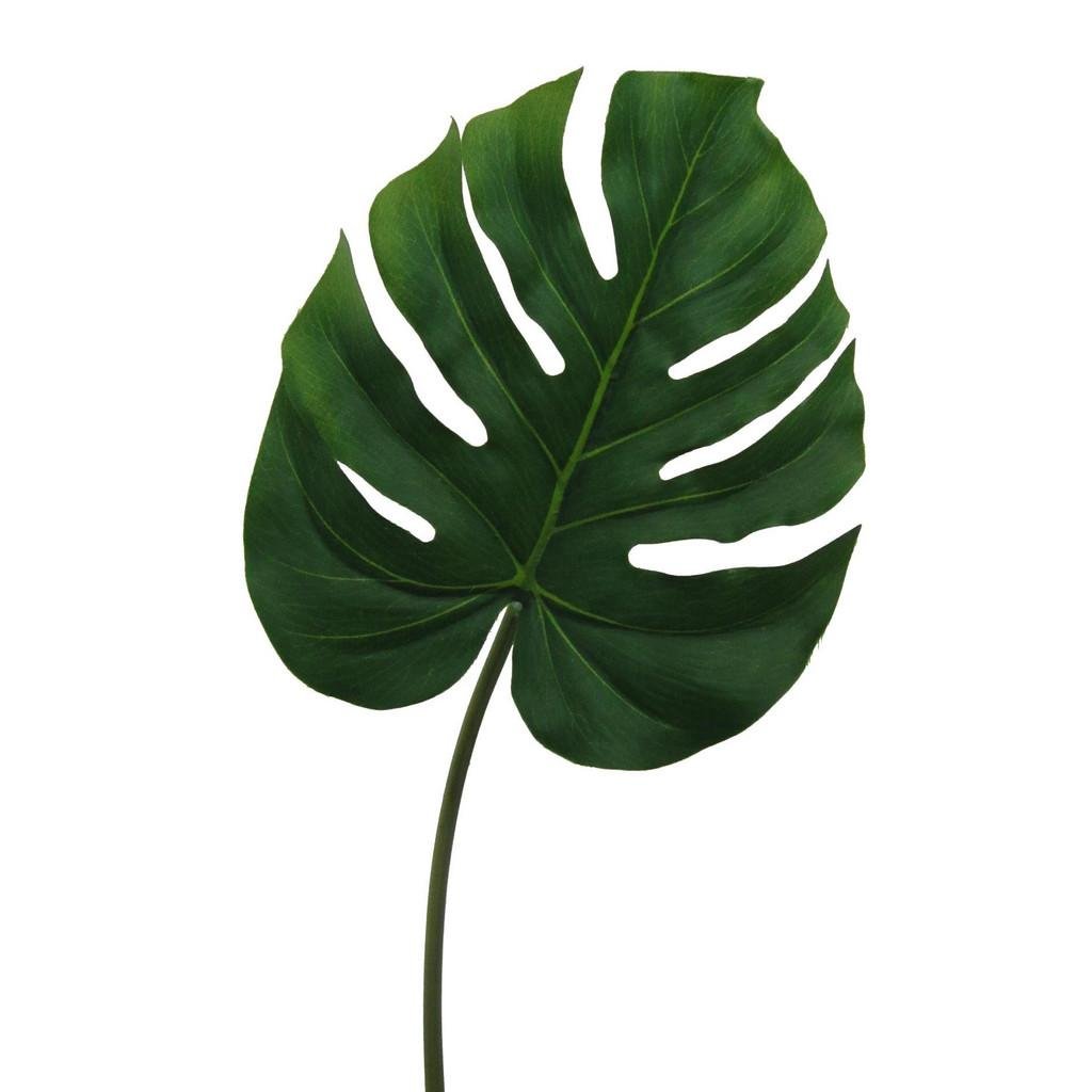 Kunstpflanze Splitphiloblatt Grün