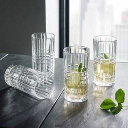 Nachtmann Gläserset Square 4-teilig - Klar, MODERN, Glas - Nachtmann