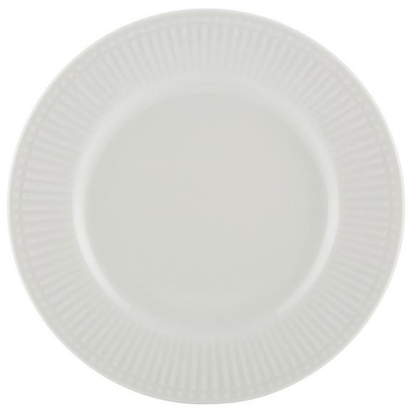 Farfurie Pentru Desert Celina - alb, Romantik / Landhaus, ceramică (19/1,5cm)