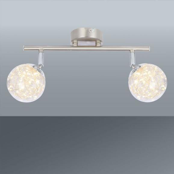 Led-reflektor Kiko - Moderno, kovina/steklo (30/10/19,5cm) - Premium Living