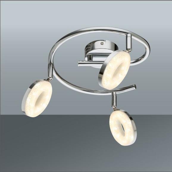 LED-Strahler Elli Chrom max. 4 Watt - Chromfarben, KONVENTIONELL, Kunststoff/Metall (26/23cm) - Mömax modern living