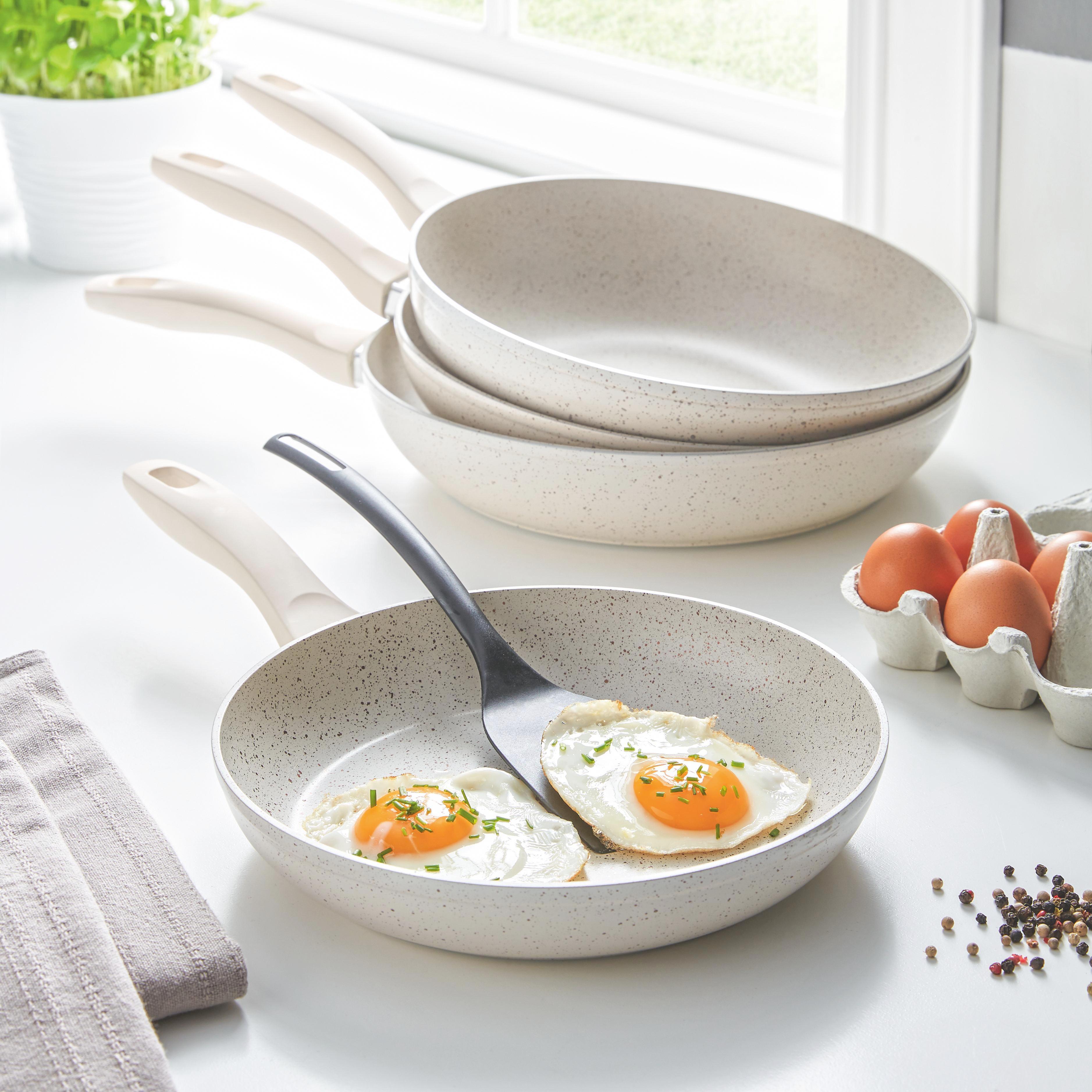 Serpenyő Marmor - krém, romantikus/Landhaus, fém (24/4,5cm) - premium living