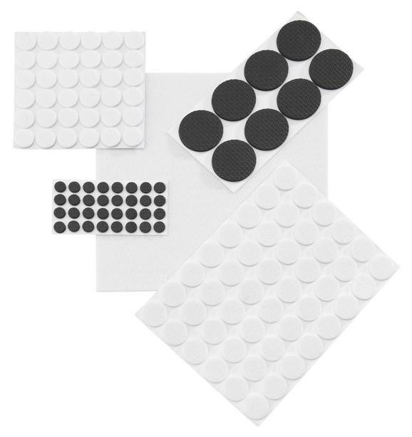 Podloge Iz Klobučevine 125-delni - bela/rjava (0cm) - Based