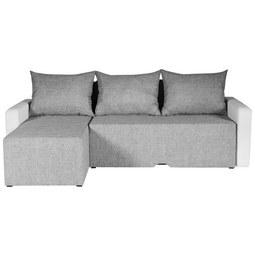 Sedežna Garnitura Lima - siva/bela, Moderno, tekstil (225/149/88cm) - Mömax modern living