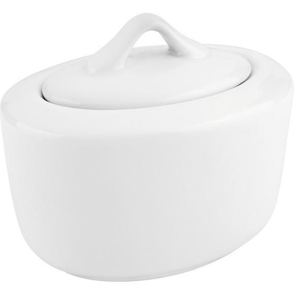 Zaharniță Adria - alb, Konventionell, ceramică (14/9,5cm) - Modern Living