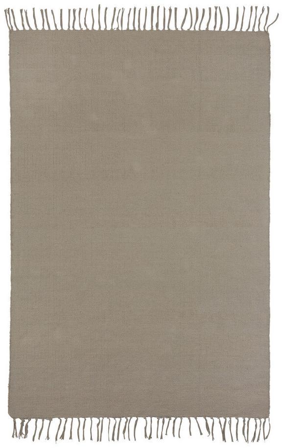 Handwebteppich Rodeo 120x170cm - Taupe, MODERN, Textil (120/170cm) - Mömax modern living