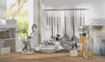 Pfannenwender Dani Edelstahlfarben - Edelstahlfarben, Metall (33cm) - Mömax modern living