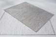 Ravno Tkana Preproga Abra - svetlo siva, Romantika, tekstil (160/230cm) - Mömax modern living