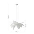 Viseča Svetilka Ina - bela, Moderno, umetna masa (50/112cm) - Mömax modern living