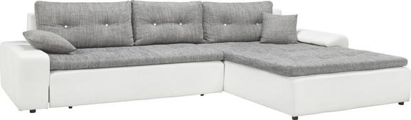Sedežna Garnitura Milky Way - siva/črna, Konvencionalno (310/211cm) - Mömax modern living