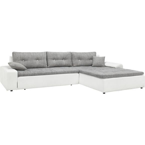 wohnlandschaft grau mit bettfunktion online kaufen m max. Black Bedroom Furniture Sets. Home Design Ideas