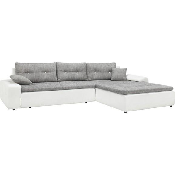 wohnlandschaft in grau wei online kaufen m max. Black Bedroom Furniture Sets. Home Design Ideas