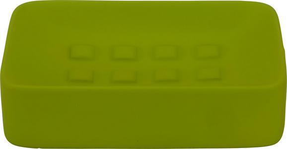 Szappantartó Melanie - Zöld, Kerámia (8,3/12,5cm) - Mömax modern living