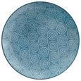 Farfurie Întinsă Nina - albastru, ceramică (26,5cm) - Modern Living