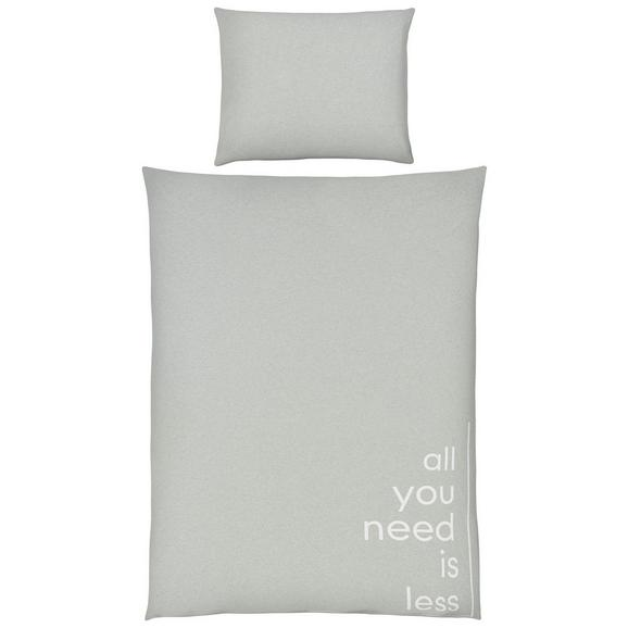 Lenjerie De Pat Jersey Words - verde deschis, Modern, textil (140/200cm) - Premium Living