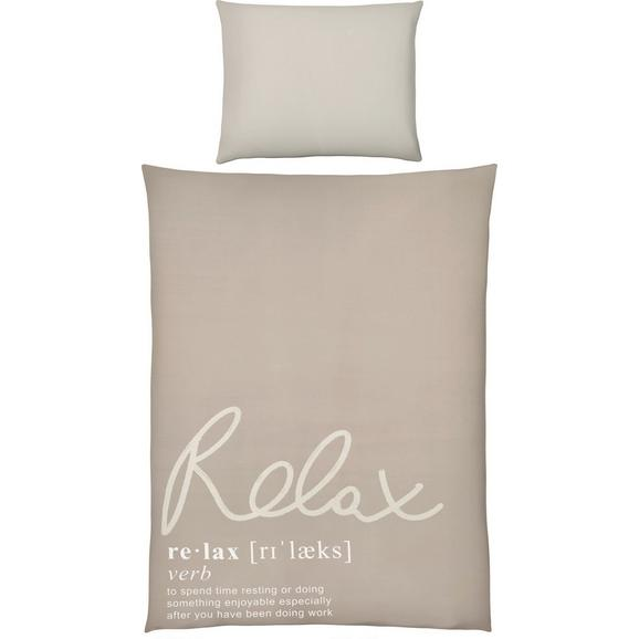 Lenjerie De Pat Relax Oasis - bej, Modern, textil (140/200cm) - Mömax modern living