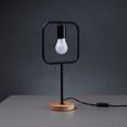 Tischleuchte Mauricio - Schwarz, MODERN, Holz/Metall (18/15/30cm) - Modern Living