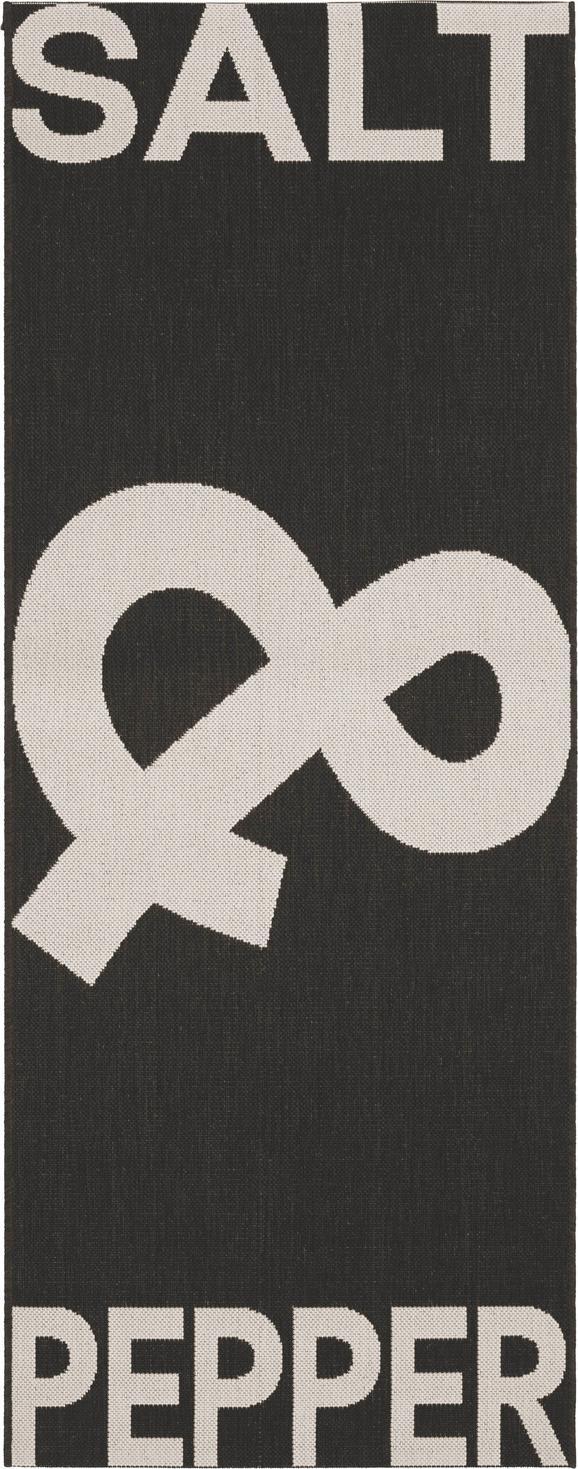 Síkszövött Szőnyeg Pepper & Salt - Fekete, Lifestyle, Textil (80/200cm) - Mömax modern living