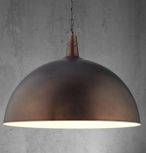Pendelleuchte XXL Ricardo - Braun, MODERN, Metall (70/130cm) - Mömax modern living