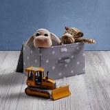 Box Sandy mit Deckel - Weiß/Grau, MODERN, Kunststoff (40/25/25cm) - Mömax modern living