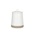 Cutie Alimentară Emilia- S - alb, ceramică/plastic (9/12,5cm) - Zandiara
