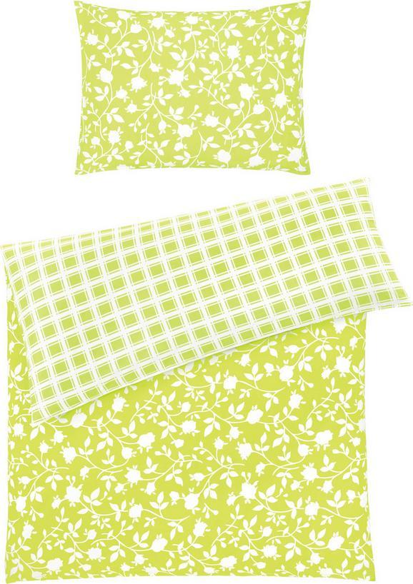 Ágyneműhuzat-garnitúra Sarah - Világoskék/Zöld, Textil (140/200cm) - Based