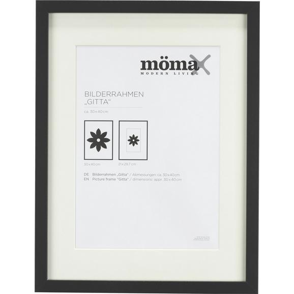 Okvir Za Slike Gitta - črna, Moderno, steklo/leseni material (30/40/3,6cm) - Mömax modern living