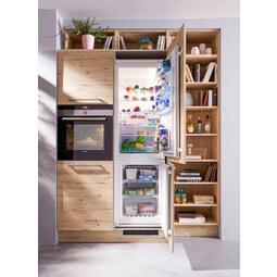 Einbauküche Nolte Stone Artwood   Eichefarben/Kupferfarben, Holzwerkstoff  (262,5/180cm Nolte Küchen