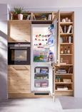 Einbauküche Nolte Stone Artwood - Eichefarben/Kupferfarben, Holzwerkstoff (262,5/180cm) - Nolte Küchen