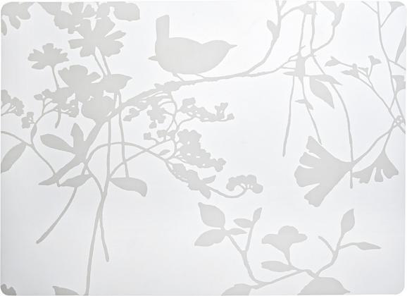 Asztali Szett Birdy - fehér, műanyag (33/45cm) - MÖMAX modern living
