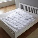 Steppdecke Irisette 135x200 cm - Weiß, MODERN, Textil (135/200cm) - IRISETTE