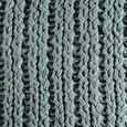 Kissen Esra 45x45cm - Mintgrün, MODERN, Textil (45/45cm)