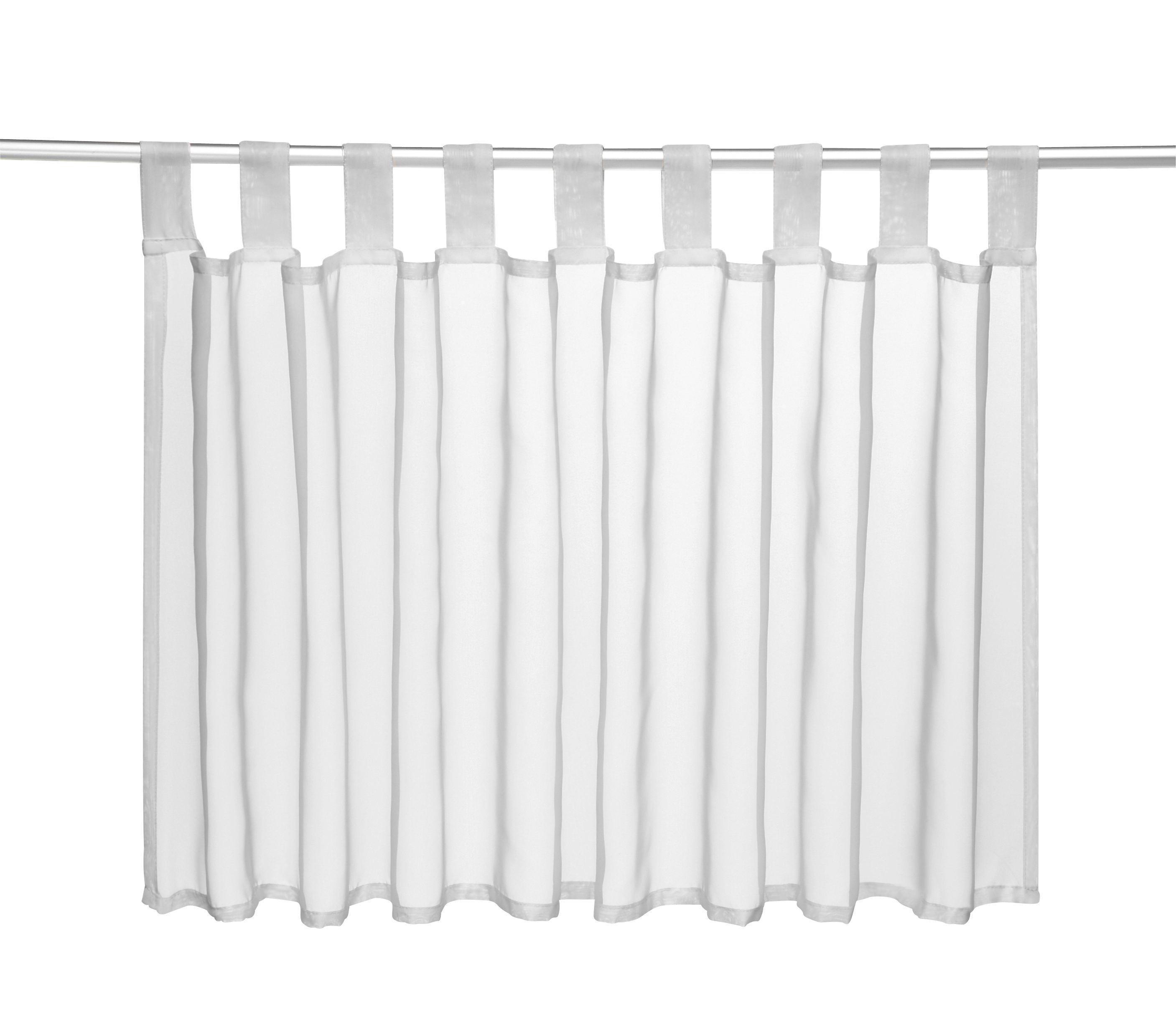 Vitrázsfüggöny Törtfehér - natúr színek, textil (145/50cm) - MÖMAX modern living
