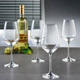 Weißweingläser Vivo Voice Basic 4-er Set - MODERN, Glas - VIVO