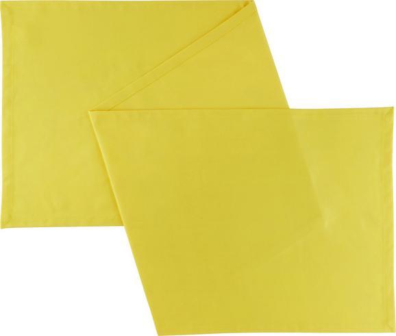Dolg Nadprt Steffi - rumena, tekstil (45/240cm) - Mömax modern living