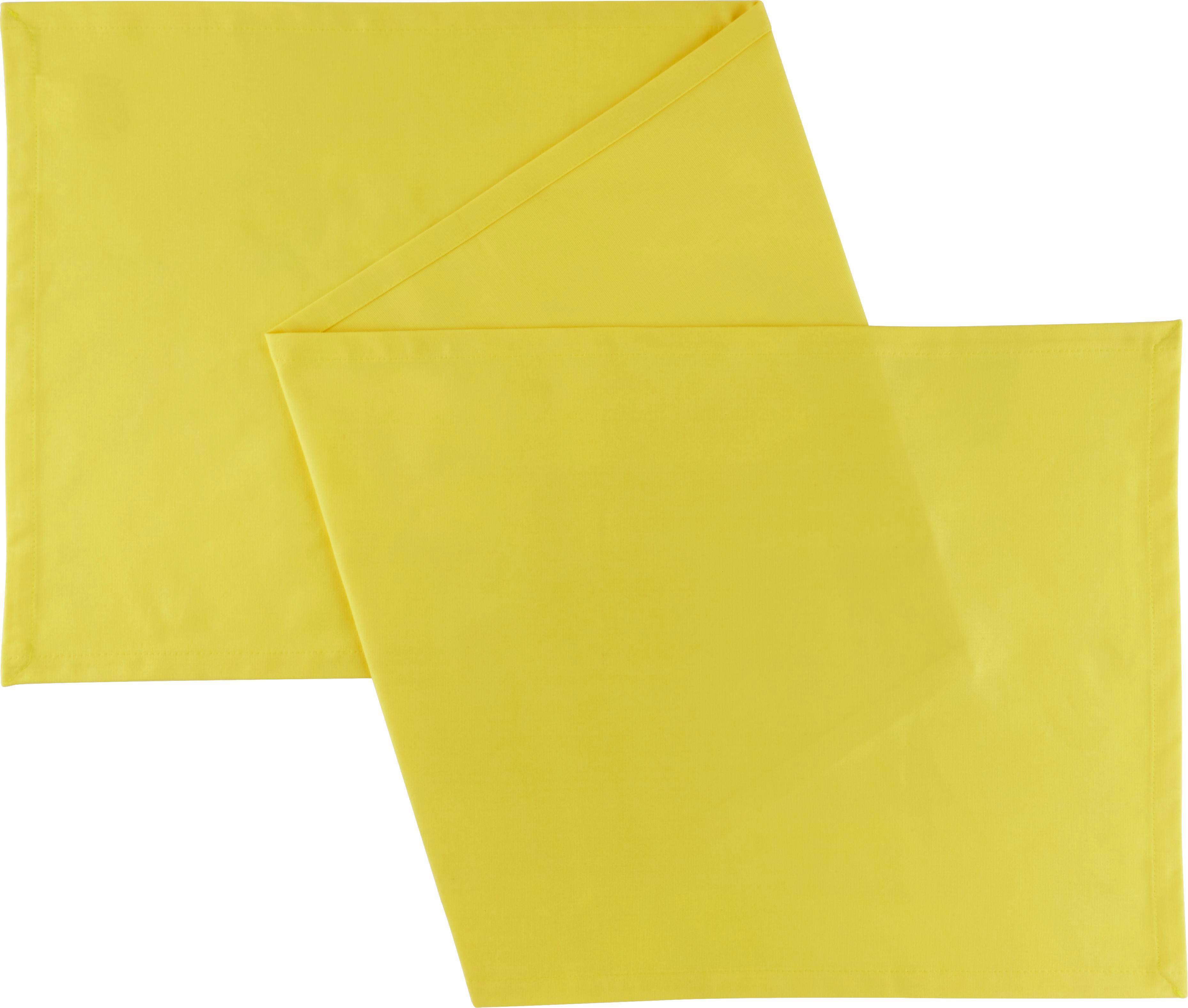 Tischläufer Steffi in Gelb - Gelb, Textil (45/240cm) - MÖMAX modern living