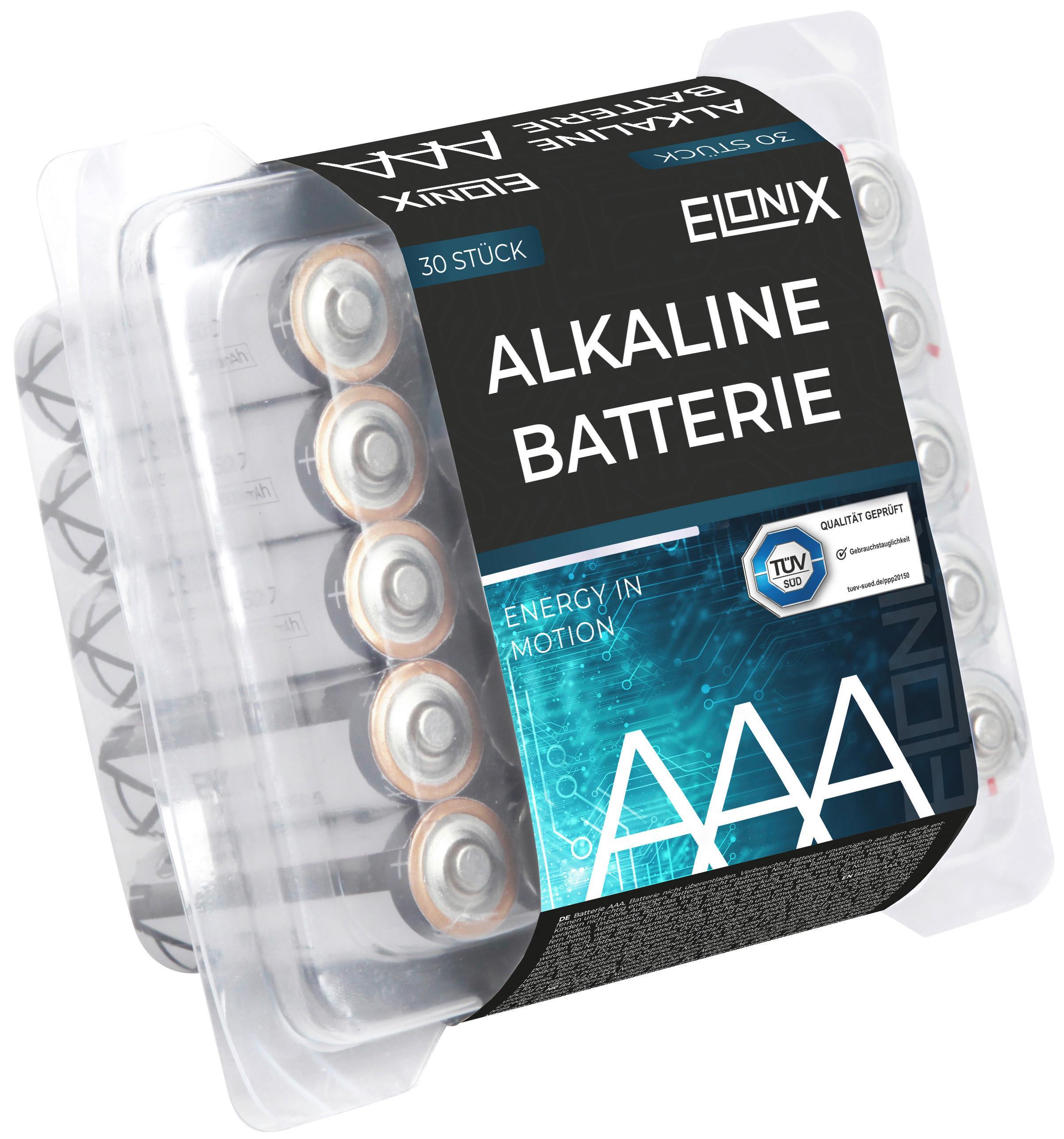 Image of Batterie Alkaline AAA 30er Packung