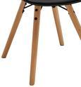 Stuhl Emely - Buchefarben/Schwarz, MODERN, Holz/Kunststoff (56/78/50,5cm) - Modern Living
