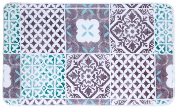Badematte Marrakesh Bunt 45x75cm - Anthrazit/Weiß, LIFESTYLE, Textil (45/75cm) - MÖMAX modern living