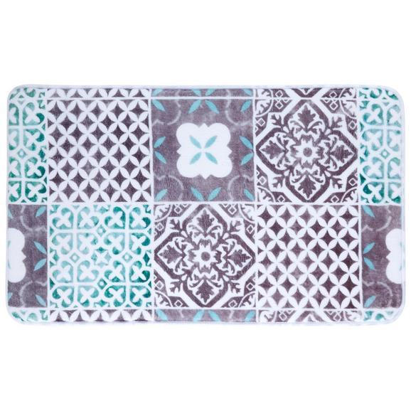 Kopalniška Preproga Marrakesh - siva/meta zelena, Trendi, tekstil (45/75cm) - Mömax modern living
