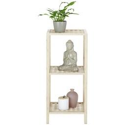 Regal aus Bambus - Naturfarben, MODERN, Holz (35/80/35cm) - Modern Living