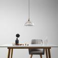 Pendelleuchte Muriel - Klar, MODERN, Glas/Metall (30/120cm) - Bessagi Home
