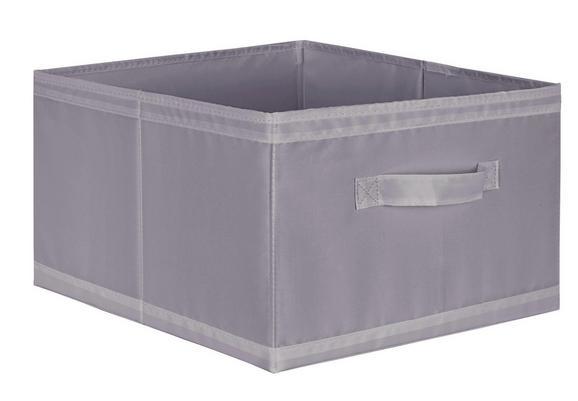 Škatla Za Shranjevanje Kläck - siva, Moderno, tekstil (31/20/33,5cm) - Mömax modern living